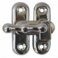 Chrome Locker Catch 1504